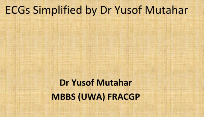 ECG simplified by Dr Yusof Mutahar Book Wiki, Info, Response, Popularity, Release
